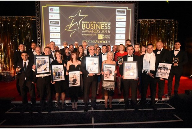 Gloucestershire Echo Business Awards 2016   Winners   Address: Cheltenham Racecourse  Credit: Rob Lacey  Date: 6-10-2016
